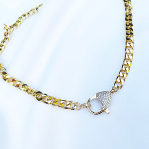 Sparkle & Gleam - Curb Chain Choker