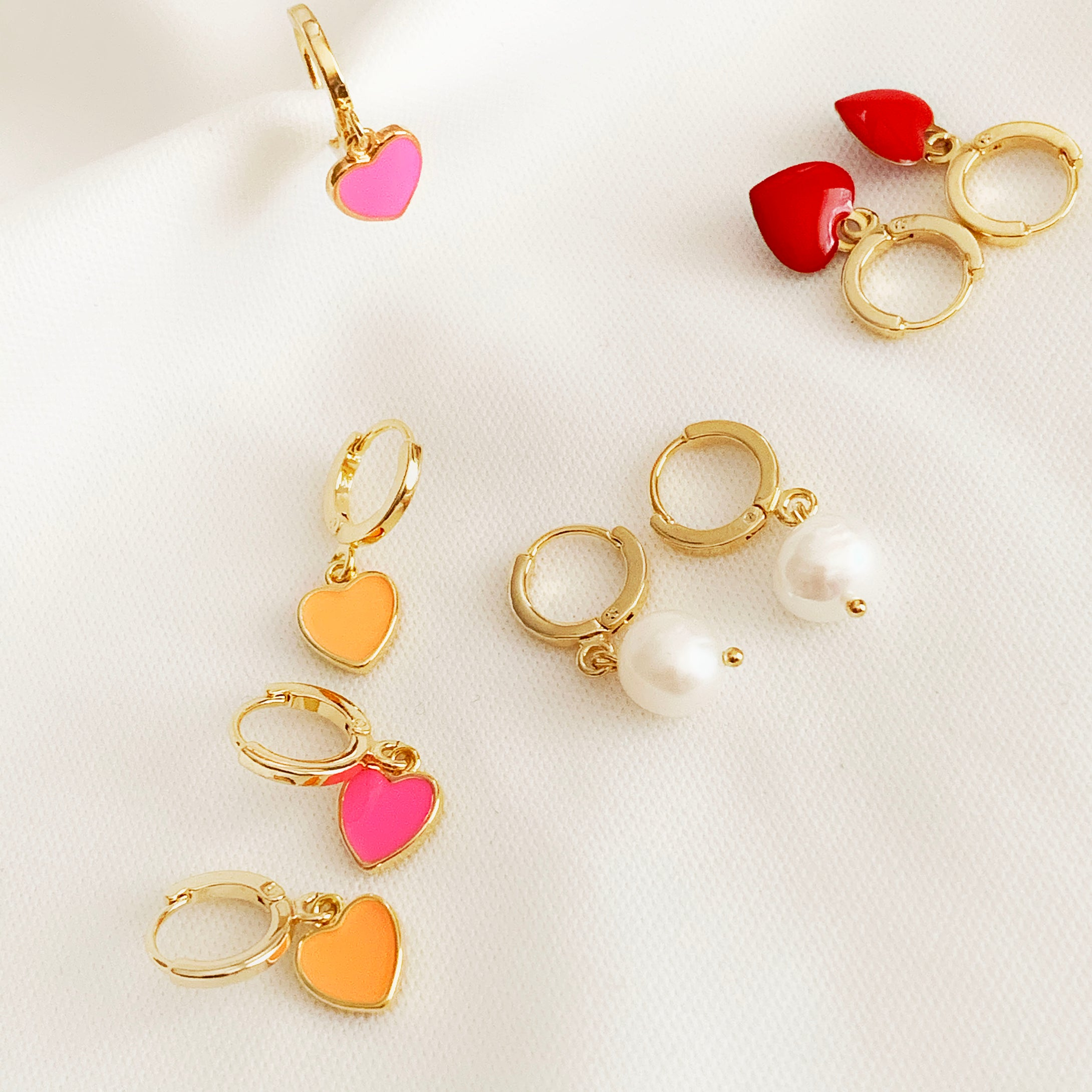 Mini Hoops - Gold Plated Hoops