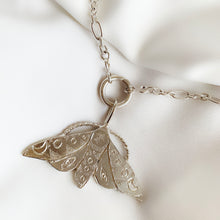 Load image into Gallery viewer, Limited Edition Celestial Moth - Sterling Silver Pendant