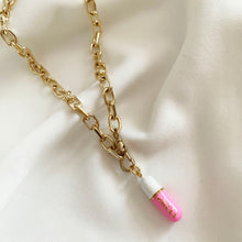 Load image into Gallery viewer, Chill / Love / Hope Pill - Necklace