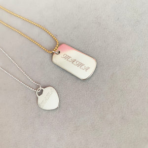 Mother's Day - Sterling Silver Necklace
