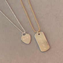 Load image into Gallery viewer, Mother's Day - Sterling Silver Necklace