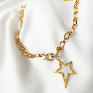 April - Star Necklace