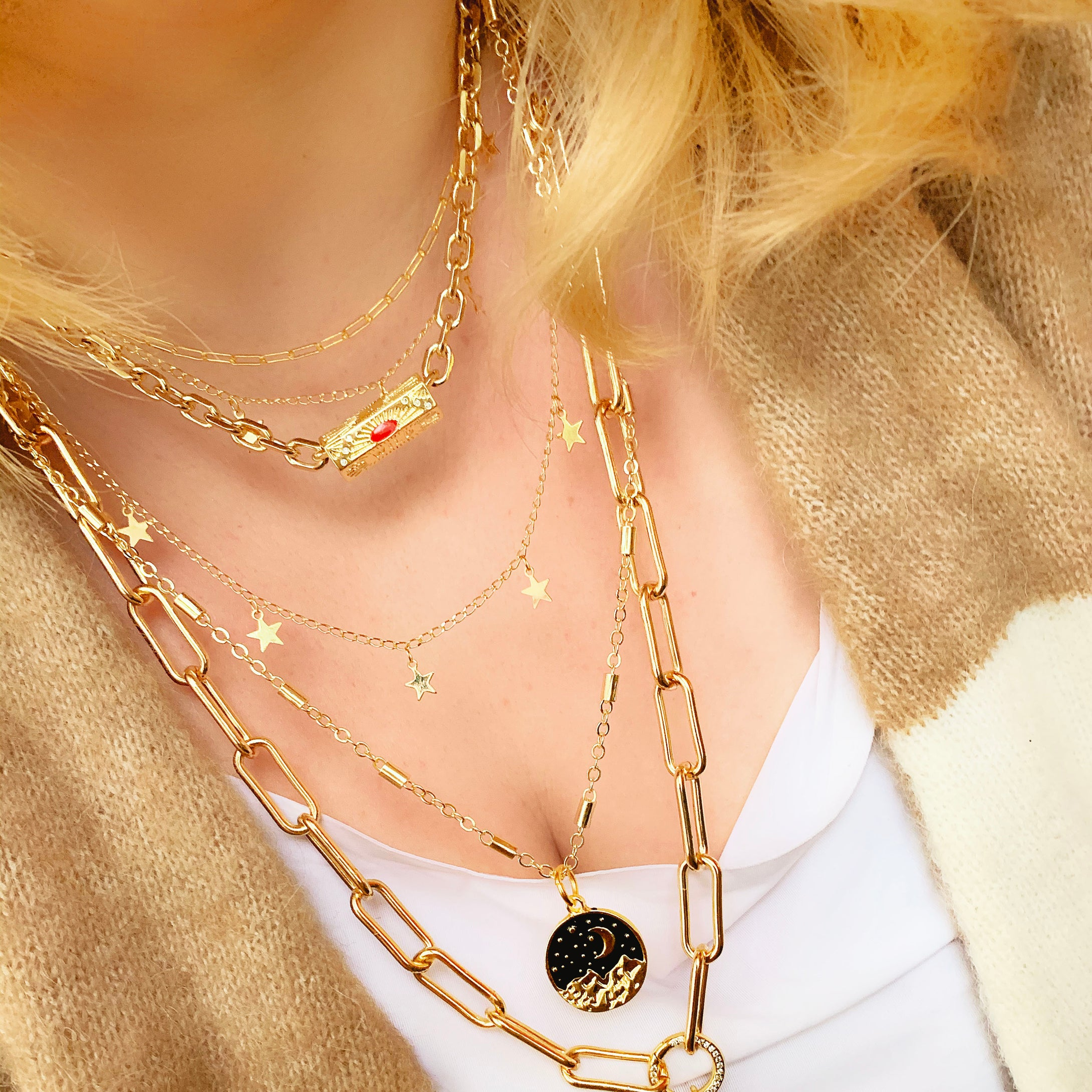 Wild - Gold Plated Necklace