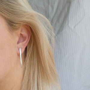 Silver Fork - Upcycled Earrings