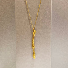 Load image into Gallery viewer, Twig - Gold Pendant