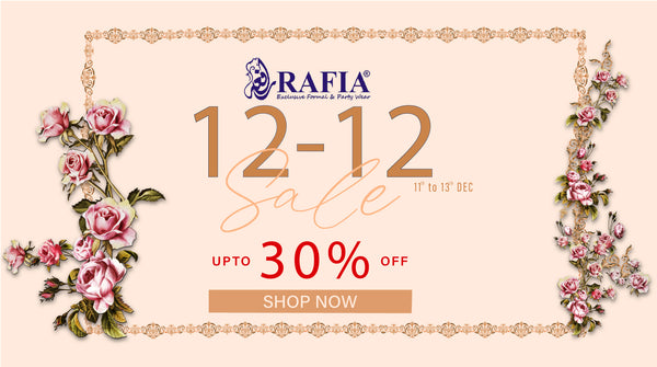 Rafia.pk Launches 12 12 Sale offering 30% Discount