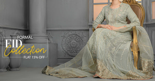 5 FORMAL DRESSES TO BUY ONLINE FROM RAFIA.PK FOR EID 2021