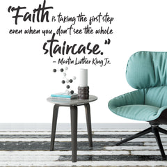 Faith Quote - vinyl wall stickers
