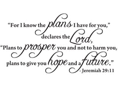 Jeremiah Quote wall poetry