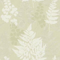 Bramble Green Wallpaper