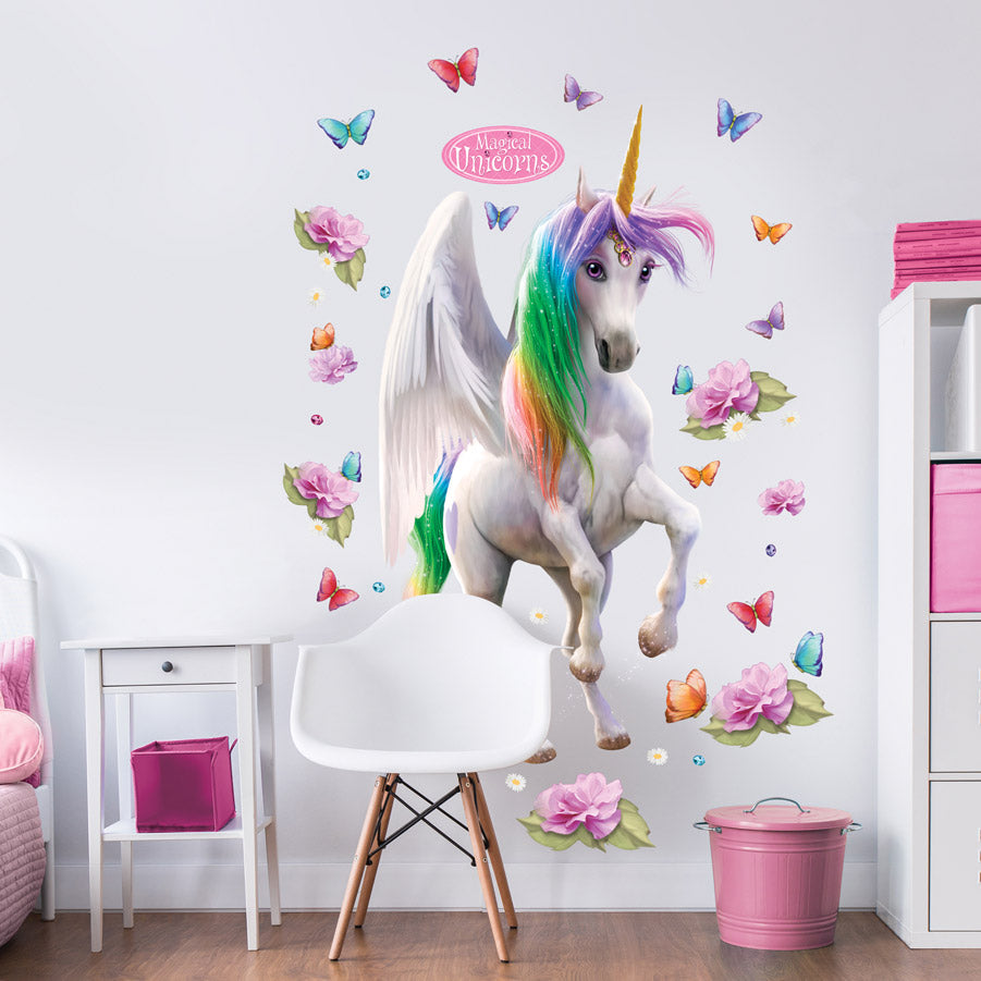 Giant Magical Unicorn Wall sticker
