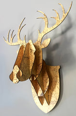 Stag Head - Patterned