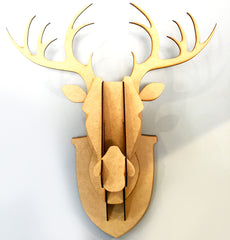 Stag Head - Raw