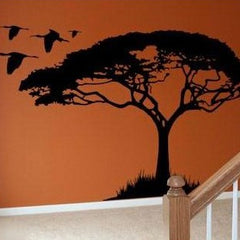 Acacia tree vinyl sticker