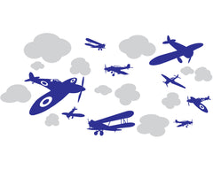 Airplanes vinyl wall stickers
