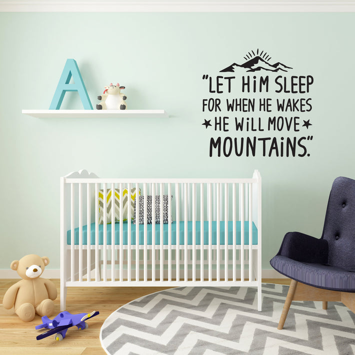 Baby Quote 7 vinyl wall poetry