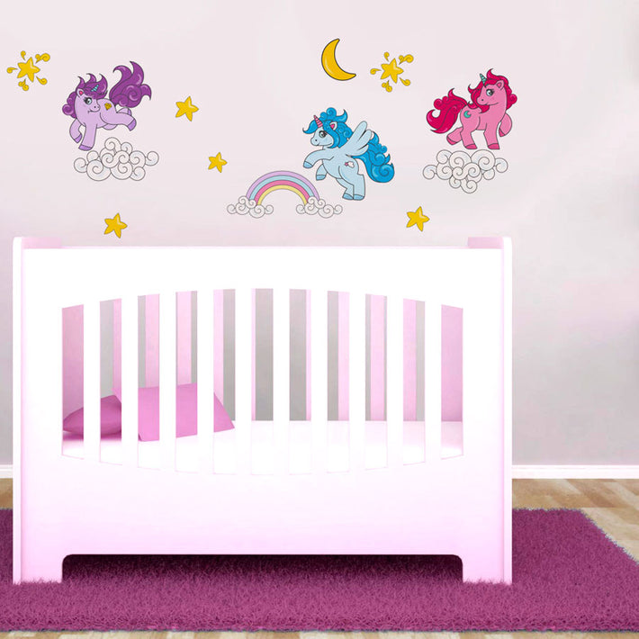 Baby Unicorns vinyl wall stickers