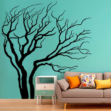 Blowing Tree - Vinyl wall sticker