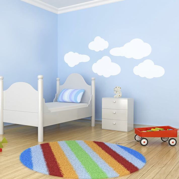 Clouds vinyl wall stickers