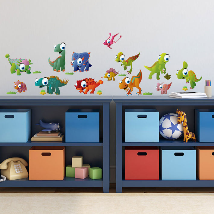 Dinotoons vinyl wall stickers