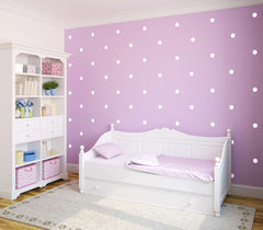 Dotty Vinyl wall patterns