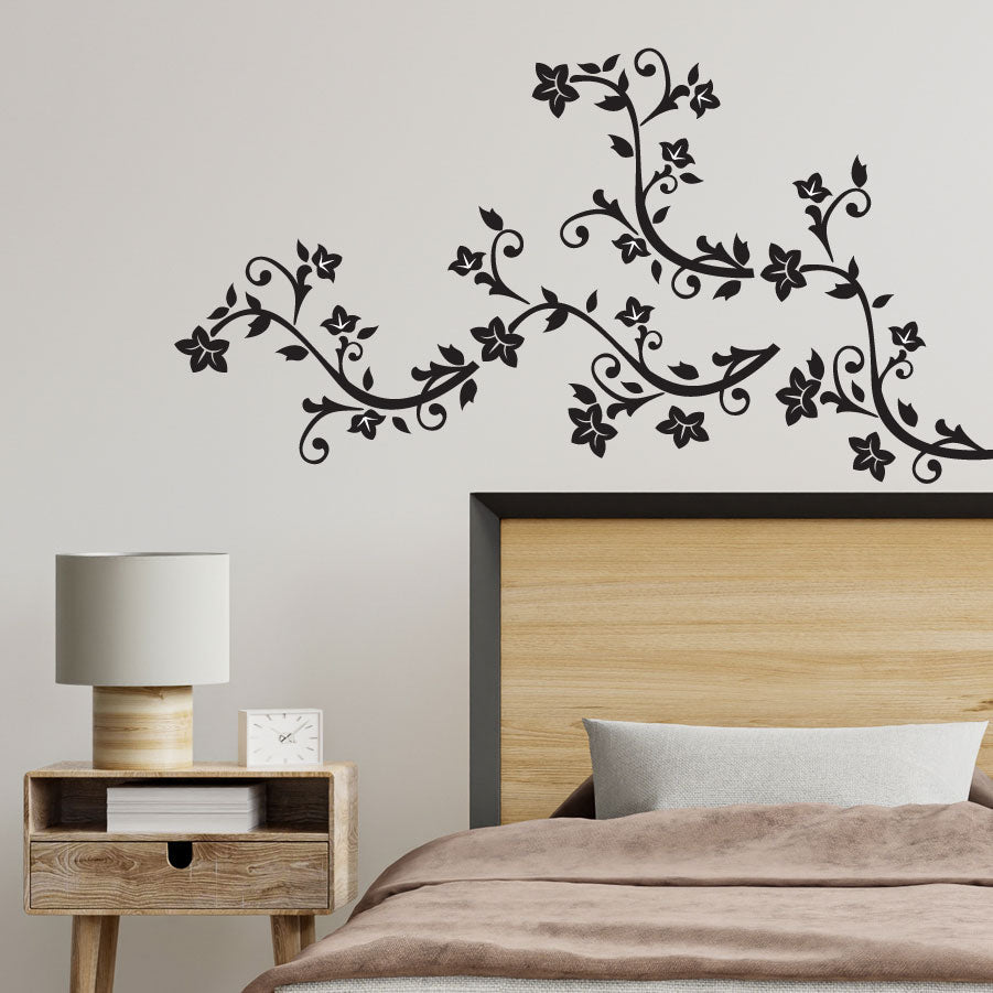 Floral - Traditional vinyl wall art