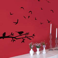 Fly Away Birds vinyl wall art