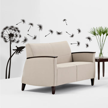 Giant Dandelion vinyl wall art
