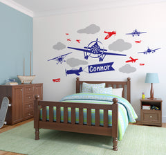 Giant planes - Vinyl wall stickers