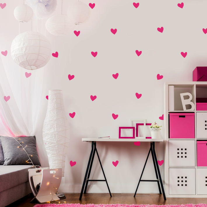 Hearts - Vinyl wall patterns