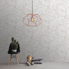Kintsugi Rose Gold Wallpaper