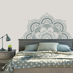 Mandala Giant Flower vinyl wall art
