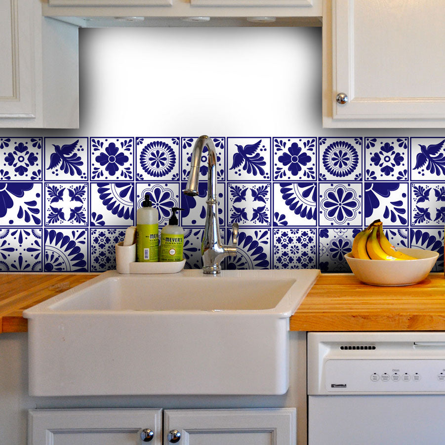 Mexican Mix - vinyl wall tiles
