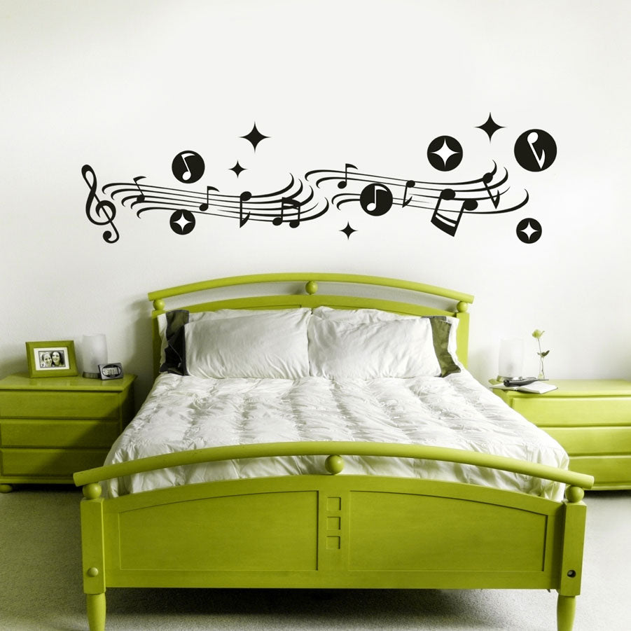 Music vinyl wall art