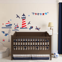 Nautical Fun vinyl wall stickers