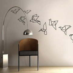 Origami birds Vinyl wall patterns