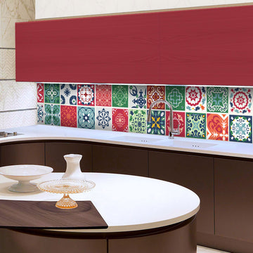 Talavera - vinyl wall tiles