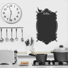 Vintage Notes - Vinyl chalkboard sticker