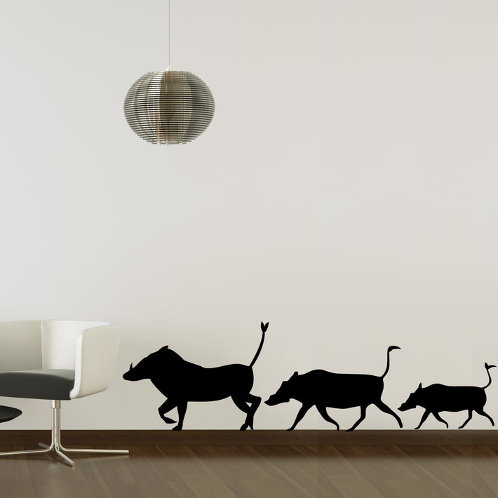 Warthogs wall stickers