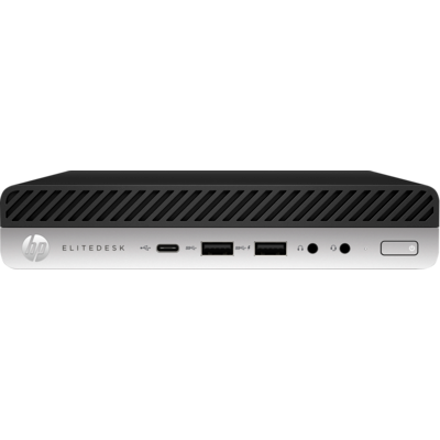 HP 800 EliteDesk G5 DM, i5-9500T, 8GB, 256GB SSD, WLAN, W10P64, 3-3-3 (Replaces 4SV44PA & 4ZE06PA)