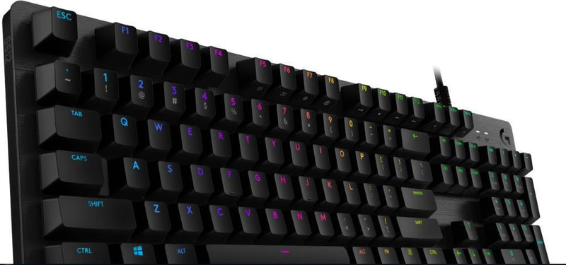 Logitech G512 CARBON LIGHTSYNC RGB Mechanical Gaming Keyboard with GX Red switches