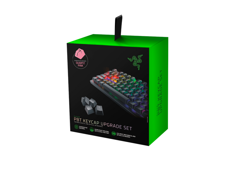 Razer PBT Keycap Upgrade Set - Quartz Pink - FRML Packaging