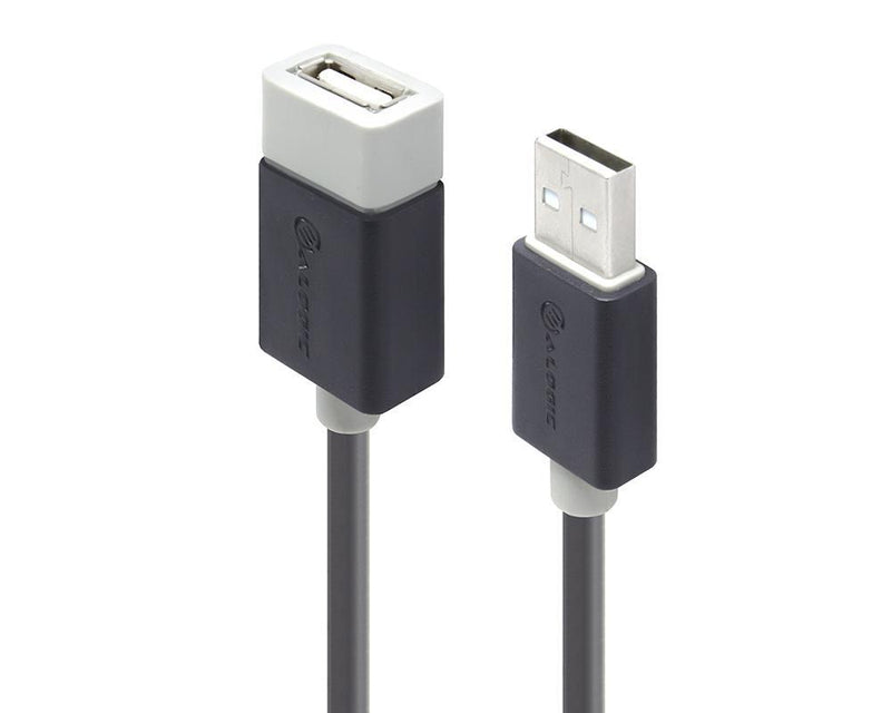 ALOGIC 0.5m USB 2.0 Type A to Type A Extension Cable - Male to Female - MOQ:20