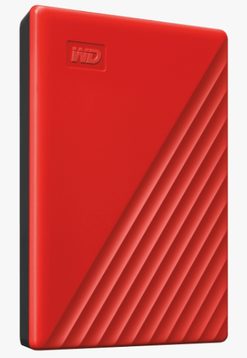 MY PASSPORT 4TB RED WORLDWIDE
