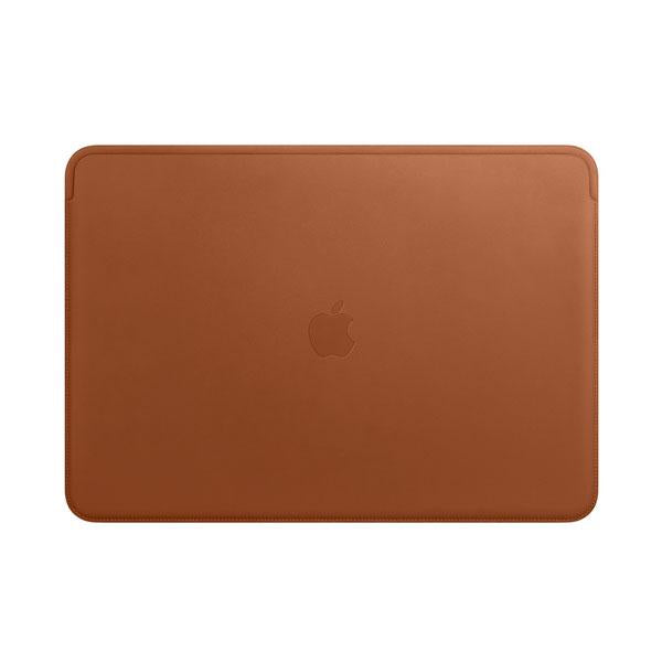 Leather Sleeve for 15-inch Macbook Pro - Saddle Brown