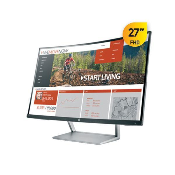 HP N270c Curved Monitor