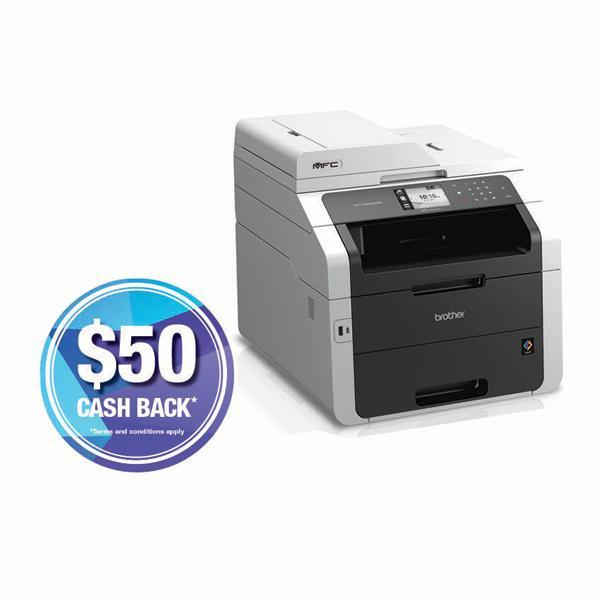 Brother MFC-9340CDW Multifunction Colour Laser Printer