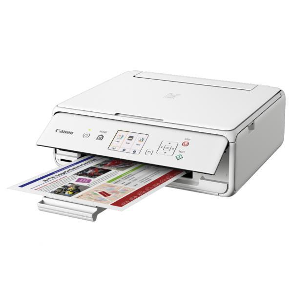 Canon PIXMA TS6060 Inkjet Printer - White