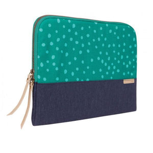 "STM Grace Sleeve 13"" - Teal Dot"